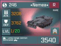 Nemea R Lv1 Front