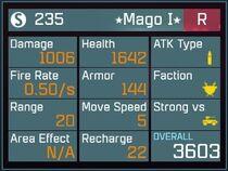 Mago I R Lv1 Back