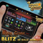 Blitz in relic dungeon