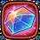 Emblem crysyal 100000
