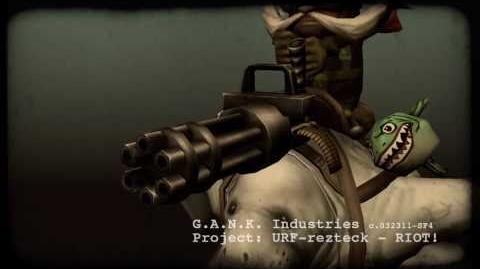 League of Legends - G.A.N.K Industries Presents Urfrider Corki