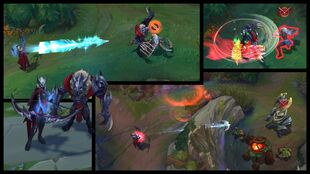 Ashe and Warwick Marauder Screenshots