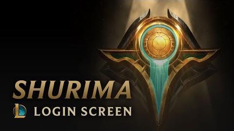 Shurima - Login Screen