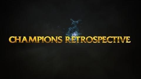 League of Legends Champions Retrospective