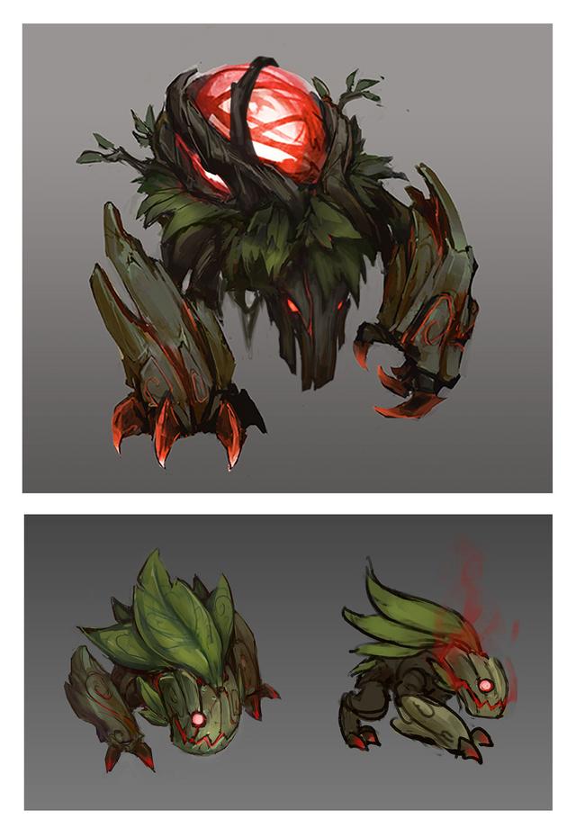 Summoner's Rift Update Creature Red Buff