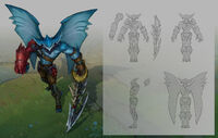 Aatrox Sea Hunter concept