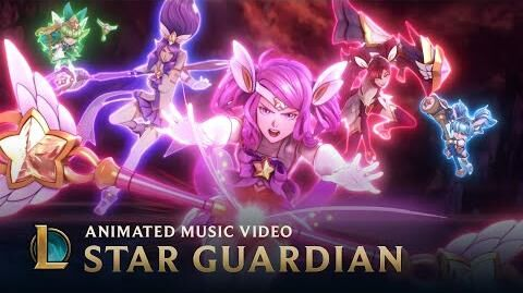 Burning Bright Star Guardian Music Video - League of Legends