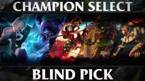 Blind Pick - Champion Select Music