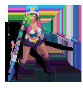 File:Miss Fortune Arcade (Aquamarine).png