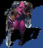 Zed Shockblade (Rose Quartz)