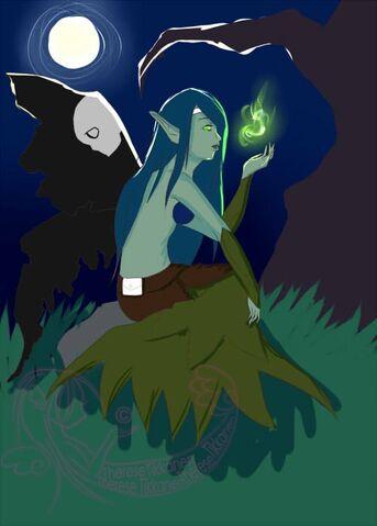 File:ThessTuss Wip dark fairy morgana by taez-d4plw1y.jpg
