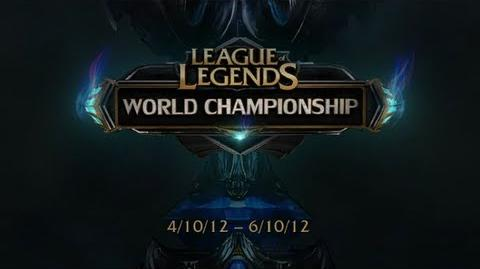 Season 2 World Championship - Login Screen