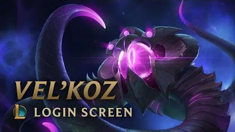 Vel'Koz, the Eye of the Void - Login Screen