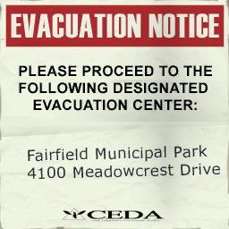 File:Sign evacuation notice fairfield ri.jpg