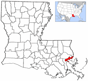 File:Map of Louisiana and USA highlighting Orleans Parish.png