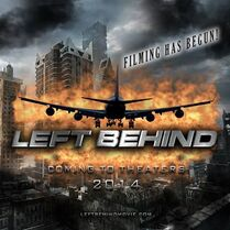 Left Behind Filming Poster