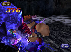 Explosive fist 4