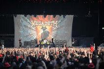 Photo LEVENT KULU11 Megadeth BJK inonu stadium istanbul sonisphere 27 06 2010