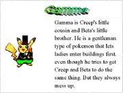 3. Gamma's Bio