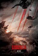 Godzilla (film) poster 3