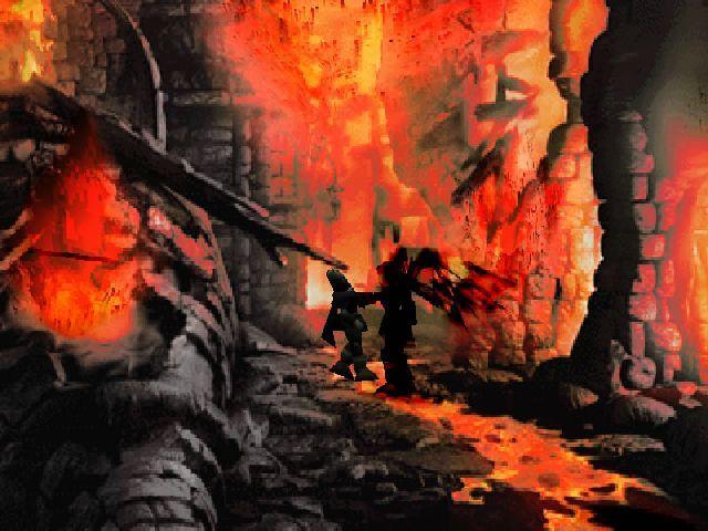 The Legend of Dragoon - Mostro Nero