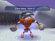 Bowling uses Charging Spirit