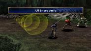 Tricky Bat uses Ultrasonic