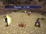 Arrow shooter using thunder arrow