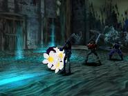 Magician Bogy uses Flower Gift on Rose