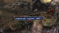 Frozen Jet Chest Moon that never sets