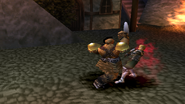 Kongol uses Axe