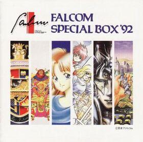 Falcom special box 92 cover