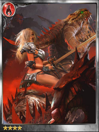 (Enslaved) Claire, Wyvern Knight