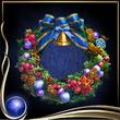 Blue Wreath of Flowers EX