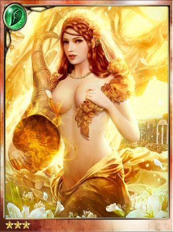 Golden Goddess Fortuna