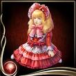 Red Bisque Doll EX