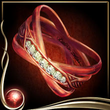 Red Sparkling Ring EX