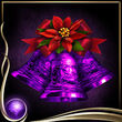 Purple Christmas Bells EX