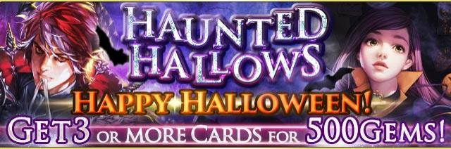 Haunted Hallows Banner