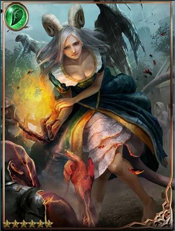 Revitalized Demon Reghana