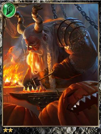 (Capacity) Lantern Dwarf Elder