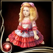 Red Bisque Doll