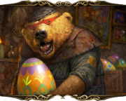 Egg-Stealing Bear