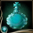 Turquoise Perfume Bottle