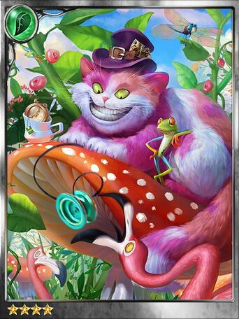 (Quirky) Elusive Cheshire Cat
