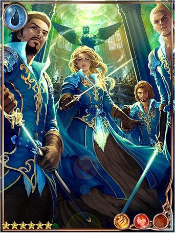 (Team) Altruistic Azure Musketeers