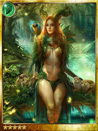 Yggdrasil Dryad Queen
