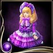 Purple Bisque Doll EX