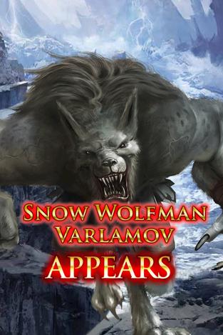 Snow Wolfman Varlamov Appears