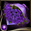 Purple Romantic Bouquet EX